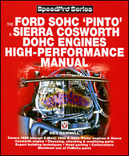 FORD SOHC PINTO ENGINES BOOK PERFORMANCE MANUAL SIERRA COSWORTH DOHC MUSTANG