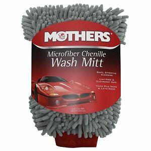 Mothers Microfibre Chenille Wash Mitt - Premium Car Wash Mitt