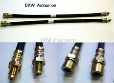 * AUTOUNION DKW 1000 3=6 1000S brake hoses set  3 PIECES NEW RECENTLY MADE
