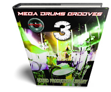 MEGA DRUMS GROOVES 3 - Kits/Loops/Performances Samples Library over 8GB