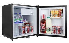 iceQ 48L Table Top Mini Drinks & Beer Fridge Lockable Black A* Rated