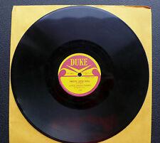78 rpm Little Junior Parker - Pretty Little Doll/ Peaches - DUKE 177