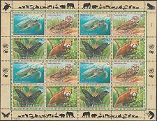 UNO Wien 248-51 im Zusammendruckbogen postfrisch