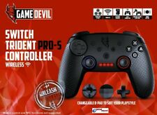 GAME DEVIL CONTROLLER PRO S - WIRELESS GAME PAD COMPATIBILE NINTENDO SWITCH