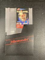 Tecmo Super Bowl : NES Nintendo NFL Original Authentic Game Tested and Working