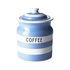 Cornish Blue Coffee Storage Jar by T.G.Green Cornishware
