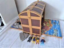 Aus einer Auflösung: Playmobil Schatztruhe Diorama mit Figuren