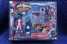 Power Rangers Operation Overdrive Red Transtek Armor Machine Vehicle Figure