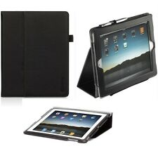 Genuine Griffin LEATHER FLIP CASE Apple iPad 2 3 folding stand tablet cover