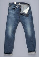 Double RL rrl jeans slim fit, henderson, distressed blue, s. 29, 30, 31, 32