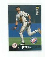 DEREK JETER (New York Yankees) 1997 UPPER DECK COLLECTOR'S CHOICE CARD #180