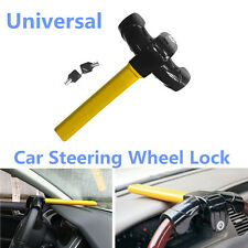 Car Heavy Duty T Style Security Anti Theft Device Lock Steering Wheel Lock &Keys