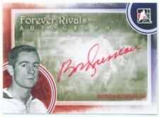 "BOBBY ROUSSEAU ""AUTOGRAPH CARD"" ITG FOREVER RIVALS MONTREAL CANADIENS"