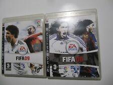 FIFA 08 + FIFA 09  PS3 Pal España