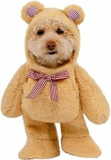 Walking Teddy Bear Dog Costume - XS - Brown - Ted - Halloween - Rubie's NWT