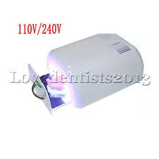 Mini Light Curing Light Cure Oven For Dental 2 Uva Tubes 110v240v Ld