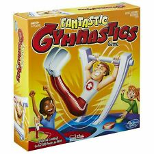 Hasbro Gaming FANTASTIC GYMNASTICS Fun Family Game - Stick With It To Win!