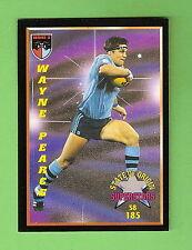 1994 Series 2 RUGBY LEAGUE CARD #185  WAYNE PEARCE,   NSW ORIGIN SUPERSTARS