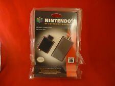 Nintendo 64 RF Switch / N64 RF Modulator BRAND NEW! *damaged packaging*