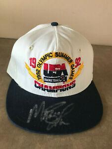 1992 Olympic Summer Games USA Basketball Champions Magic Johnson Autographed