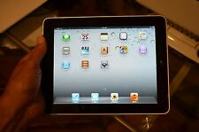 APPLE IPAD 1st GEN 64GB, Wi-Fi 3G AT&T 9.7in SILVER MINT IN BOX 1 OWNER