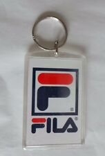 Collectible Vintage Grant Hill NBA Fila Keychain 90's Rectangular Plastic W Ring
