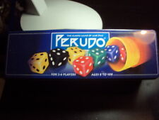 PERUDO LIAR'S DICE BOARD GAME DICE GAME IN A TIN COMPLETE VGC