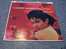 """George Shearing """"Latin Affair"""" CAPITOL LP ST-1275 w/ CAPITOL INNER CHEESECAKE"""