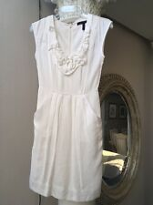 Women's BCBG white Sheath Dress Size 0