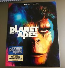 Planet of the Apes Blu-Ray Like New Slipcover Digital Copy 1968 Charlton Heston