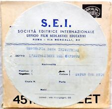 FILM PELLICOLA SUPER 8 DOCUMENTARIO GEOGRAFIA ZONA INDUSTRIALE CARBONE S.E.I.