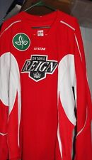 Used   RED/WHITE CCM Ontario Reign Practice Jersey