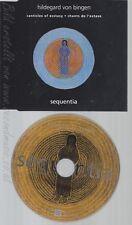 CD--HILDEGARD VON BINGEN--SANTICLES OF ECTASY--PROMO