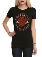 Get Scared Juniors Rose Broken Badly Shirt New XS, S, M, L, XL, 2XL, 3XL