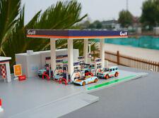1:64 Gulf Oil Gas Station Diorama Toy