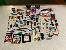 Original Vintage Hasbro 1980's G1 Transformers Figure Weapons Parts Pieces Lot 1