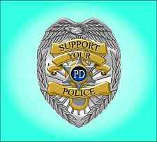Support your police sticker / decal  **Free Shipping**