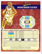 Diana Taurasi--2005 Phoenix Mercury Flex Pack Ticket Sheet