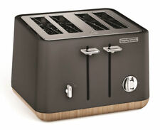 Morphy Richards Scandi Aspect 4 Slice Toaster - Titanium