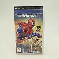 Spider-Man Friend or Foe Game for Sony PSP in Good Condition | CIB Complete