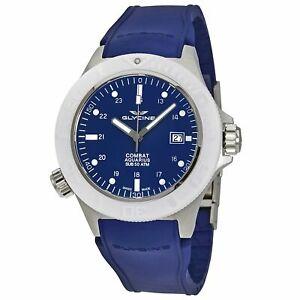 Glycine GL0041 Men's Combat Sub Aquarius Blue Automatic Watch