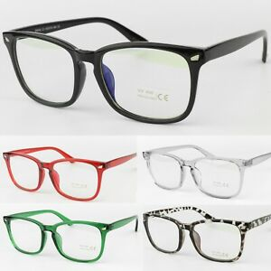 Anti-Blue Light UV400 Blocking Clear Lens Glasses Classic Frame