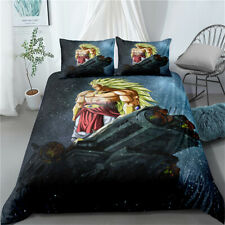 Duvet Quilt Cover Set Single Double King Super King Bed Set Broly Dragonball