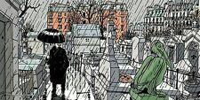 Affiche TARDI Nestor Burma Paris 20 ème arrondissement 25x50 cm