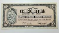 1974 Canadian Tire 10 Ten Cents CTC-S4-C-CM Circulated Money Banknote E148