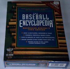 Stats Inc. Bill James Macmillan Digital 1996 Baseball Encyclopedia Pc New Sealed