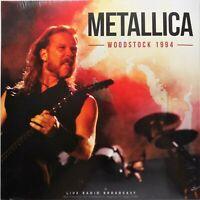 METALLICA Woodstock 1994 live radio broadcast - LP VINYLE  33T NEUF