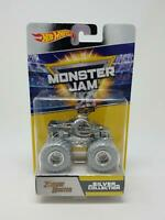 Hot Wheels Monster Jam 25th Anniversary Silver Collection Zombie Hunter New