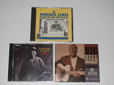 Blues (3 CD Lot) Homesick James / Mississippi John Hurt / Big Bill Broonzy