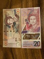 East Caribbean 20 X 2 Dollar Banknotes. 40 Eastern Caribbean Cir Total, Note Ch